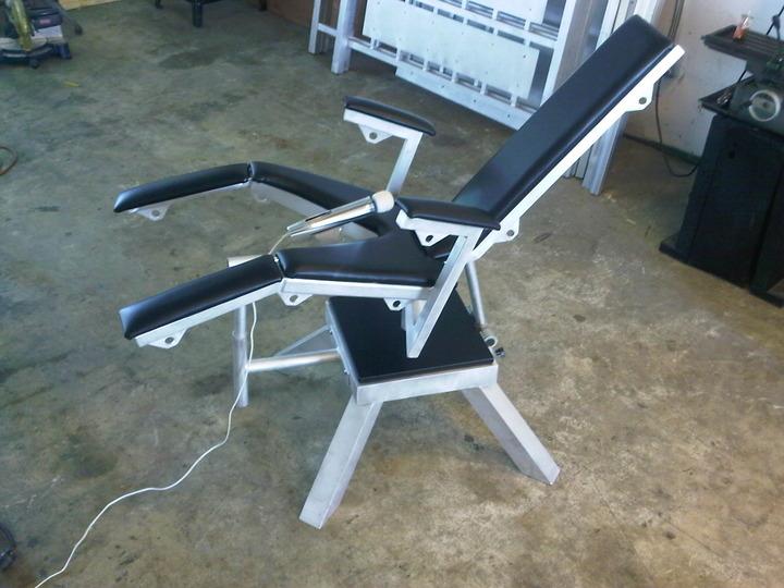 Birthing Chair w/Magic Wand Holder