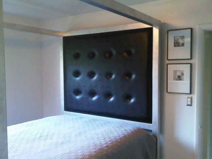 Bdsm Bed - Padded Headboard