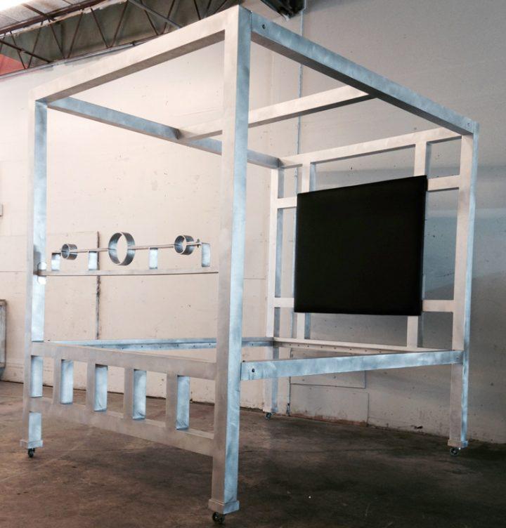 Aluminum Bed w/Stock