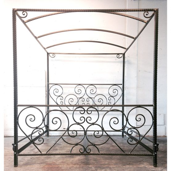 Scroll Canopy Bed
