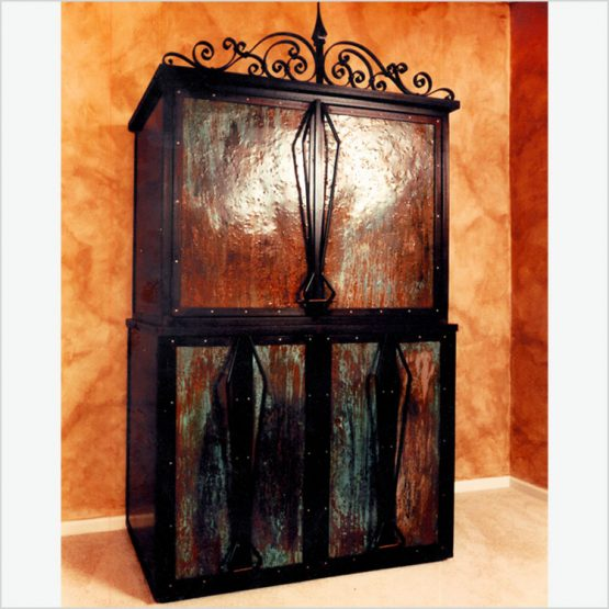 MetalBound Armoire