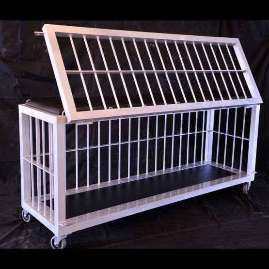 Aluminum Cage with long door