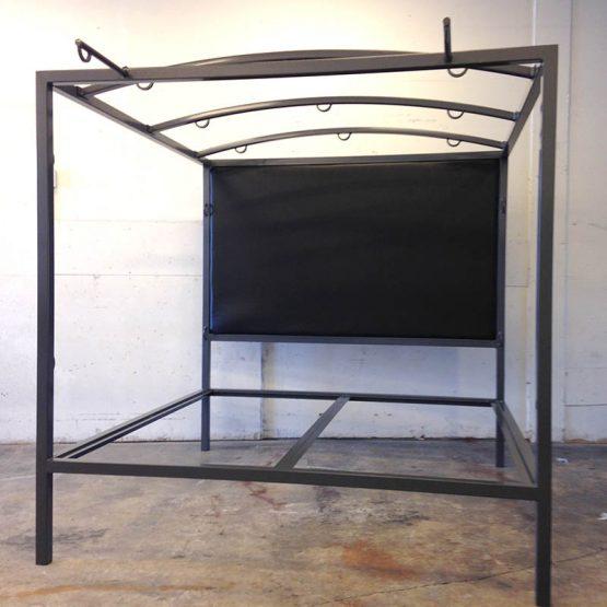 Multifunction Bondage Bed w/Upholstered Headboard